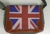 Paul Smith British print Messenger Canvas Messenger Bag Multi-color