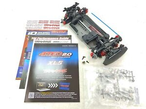 NEW Traxxas 4-Tec 2.0 1/10 4wd 4x4 Supercar Mustang GT Roller Slider Chassis Kit