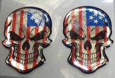 HARLEY Davidson ® ULTRA STREET XR 1200 NIGHTSTER Rocker 3d doming DECAL 2 SKULL