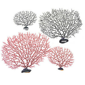 1x Artificial Coral Branch Photography Props Fish Tank Landscape Home Decoration