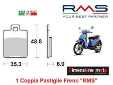 0300 - 1 Coppia Pastiglie Freno Posteriori RMS per GILERA DNA 50 dal 2000 >2004
