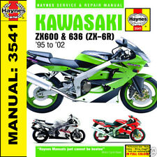 Kawasaki ZX6-R ZX6 Ninja ZX600 1995-2002 Haynes Manual 3541 NEW