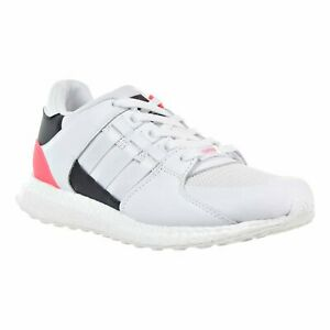 ADIDAS MENS EQUIPMENT SUPPORT ULTRA SNEAKERS BA7474 WHITE/PINK