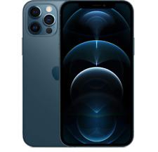 "APPLE IPHONE 12 PRO PACIFIC BLUE 512GB 5G DISPLAY 6.1"" iOS 14 Wi-Fi HOTSPOT"