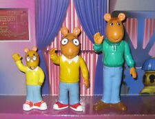 Arthur the Aardvark Toys Arthur Read Pvc 1996 Hasbro David Dad Action Figure Pbs