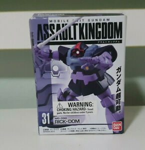 BANDAI MOBILE SUIT GUNDAM ASSAULT KINGDOM FIGURINE! NEW MS 09R RICK DOM