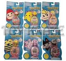 TAMAGOTCHI TAMATOWN! ATTACHMENT USED WITH TAMA-GO BANDAI LOT OF 6 PC CHARACTERS