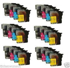 24 CARTOUCHES D'Encre Imprimante Compatible avec Brother Mfc-J 415W DCP-J265W