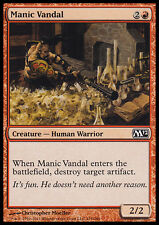 4x Vandalo Maniaco - Manic Vandal MTG MAGIC M12 Ita