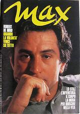 MAX 1 1985 Robert De Niro Springsteen Sade Sigourney Weaver Kathleen Turner