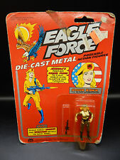 1981 vintage EAGLE FORCE toy GOLDIE HAWK action figure MOC sealed MEGO diecast !