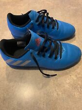 Adidas Blue Soccer Turf Shoes. Boys Size 4. Very Good Condition