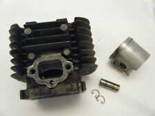USED SACHS DOLMAR 100 CYLINDER , PISTON, PIN, CLIPS