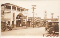 Postcard RPPC Street Scene New York Town c. 1900s
