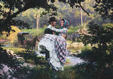 """""""Mary Ann"""" by John Paul Strain Military L/E signed Civil War Print"""