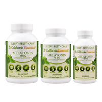 Melatonin 10 mg - Nighttime Sleep Aid - Vegan - Non-GMO, Gluten Free