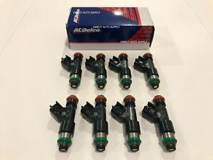 8 New OEM Fuel Injectors Original Equipment 217-2436 12594512