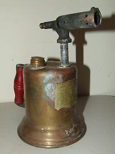 """Vintage Brass """"Hub"""" Gasoline Blotorch"""