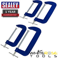 Sealey G-Clamp Set 4pc - 150mm & 200mm