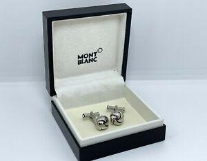 Montblanc Elegance Knot Pure PP Cufflinks 110674