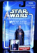 2002 Star Wars AOTC SUPREME CHANCELLOR PALPATINE ACTION FIGURE sealed 2nd coll.
