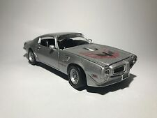 1973 PONTIAC FIREBIRD TRANS AM silver scale 1:24 model car diecast car toy car