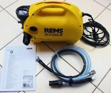 REMS -druckprüfpumpe E-PUSH 2 no. 115500 POMPE D'épreuve Pression sanitaire