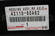 4211060A62 Genuine Toyota HOUSING ASSY, REAR AXLE 42110-60A62