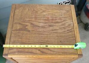Small, 3 Drawer, Oak Dresser. PICK UP ONLY