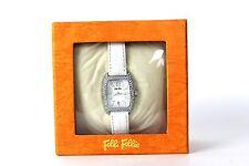 Authentic Folli Follie Women's White Watch Quartz Paid Shipping