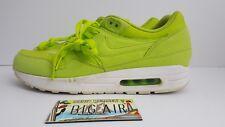 Nike Air Max 1 Tennis Ball Green Atomic Volt 308866-331 Size 11