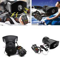 300db Horn Siren + Mic Kit 12V For Car Truck Van Boat Sounds Loud Megaphone
