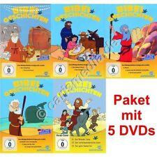 DVD-Paket: BIBEL GESCHICHTEN - 13 Teile auf 5 DVDs - ca. 344 Minuten  *NEU*