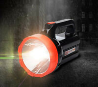 LED Portable Camping Light Rechargeable Searchlight Outdoor Flashlight Spotlight