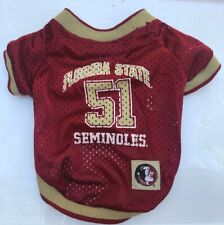 New listing Fsu | Florida State Seminoles | Dog Jersey Small | Garnet & Gold | Football