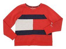 Vintage TOMMY HILFIGER Sweatshirt M Mens SPORT Crewneck LOGO Graphic USA VTG