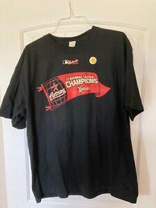 Houston Astros 2005 National League Champion Locker Room T-Shirt Size L NWT