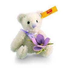 Steiff Teddy Bear with Crocus, mohair, mini, EAN 040191
