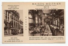 METZ moselle CPA 57 Maison MOITRIER Hotel restaurant en chaplerue