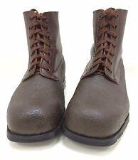 Armee Schwedische Armeestiefel braun Lederstiefel Leder Vintage Tretorn Gr 41