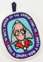 Vintage 1981 WWW National Order Arrow Conference OA Texas Boy Scout BSA Patch