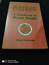 Futhark A Handbook Of Rune Magic Edred Thorsson Pb Weiser 1992