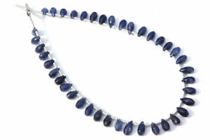 Natural Blue Sapphire Faceted Drops (Quality AA)