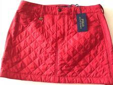 Ralph Lauren Sport Polo Red Skirt Size 6 $145