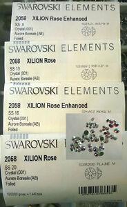 124x Swarovski Rhinestone Crystal AB Nail Art  Mixed Sizes _1664