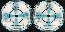 DISCO 45 GIRI   Commodores - Flying High / Funky Situation