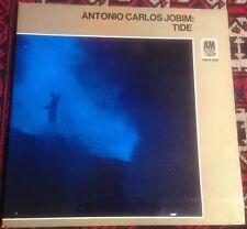 ANTONIO CARLOS JOBIM tide 1970 UK A&M STEREO VINYL LP