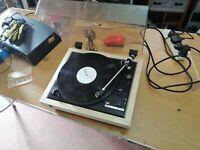 Dual CS 505-2 Belt Drive Turntable record player deck w/ cartridge & stylus (676