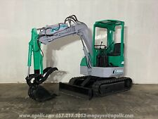 Komatsu Pc28uu Excavator Diesel Rubber Tracks With Hydraulic Thumb