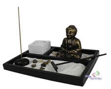 Zen - Garten mit Buddhafigur  Kerzen Rauchstab Nr:YH010